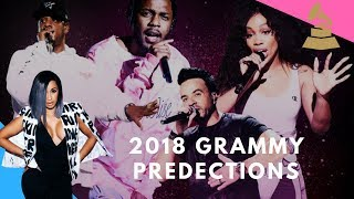 2018 Grammy Predictions!