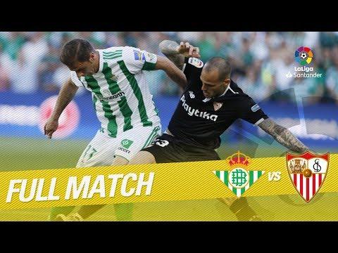 Full Match Real Betis vs Sevilla FC LaLiga 2017/2018