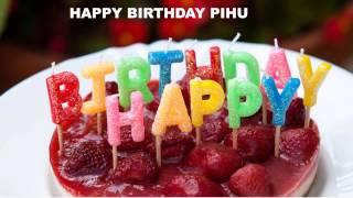 Pihu  Birthday Cakes Pasteles - Happy Birthday Wishes PIHU