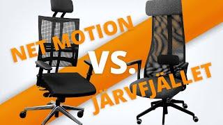 Ikea JÄRVFJÄLLET: Vergleich gegen Bürostuhl Net Motion