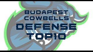 Budapest Cowbells Defense Top10 2016