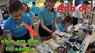 Thử mang thật nhiều tiền lẻ vào Thế Giới Di Động mua điện thoại và cái kết - XIAOMI REDMI NOTE 6 PRO
