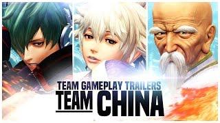 """KOF XIV - Team Gameplay Trailer #11 """"CHINA"""""""