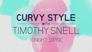 Curvy Style With Timothy Snell Promo With Supermodel Liris C.