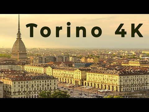 סרטון מרהיב של העיר האיטלקית טורינו