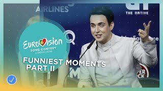 Eurovision 2018: Funny Moments - Part II