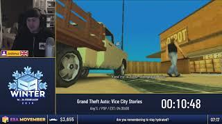 #ESAMovember Speedruns - Grand Theft Auto: Vice City Stories [Any%] by Joshimuz