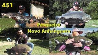 Pescaria entre amigos no Pesqueiro Novo Anhanguera - Fishingtur na TV 451