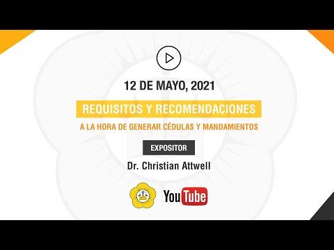 REQUISITOS Y RECOMENDACIONES A LA HORA DE GENERAR CÉDULAS Y MANDAMIENTOS - 12 de Mayo 2021