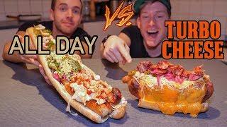 Hot Dog Challenge! - vem gör bäst korv med bröd?