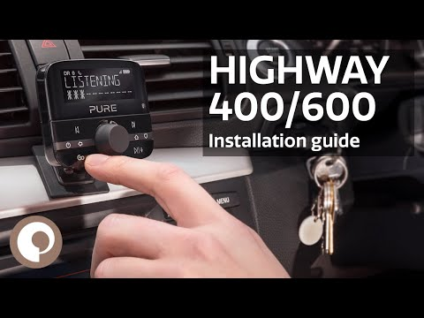 Highway 600 - In-car DAB Audio Adapter | Pure