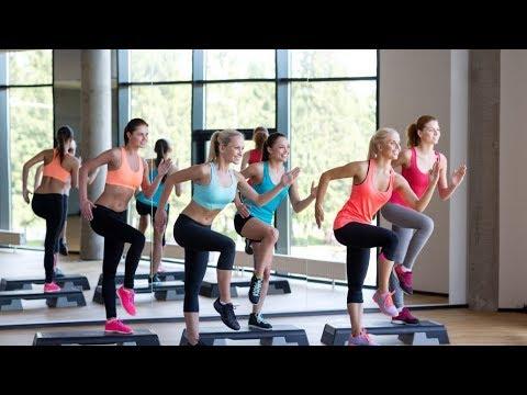 Stepper workout | Aerobics workout | cardio | Vishal Prajapati | 2018