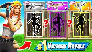 COPY The EMOTES WAR CHALLENGE *NEW* Game Mode in Fortnite Battle Royale
