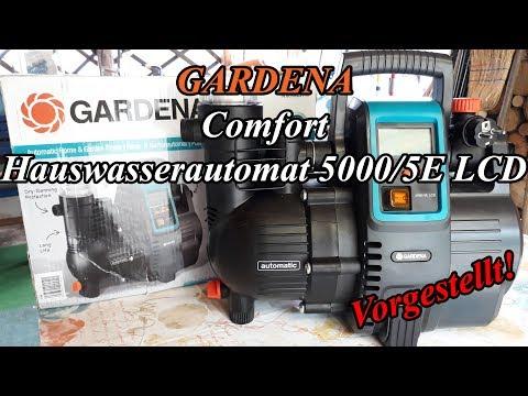 GARDENA Comfort Hauswasserautomat 5000/5E LCD [Vorgestellt]