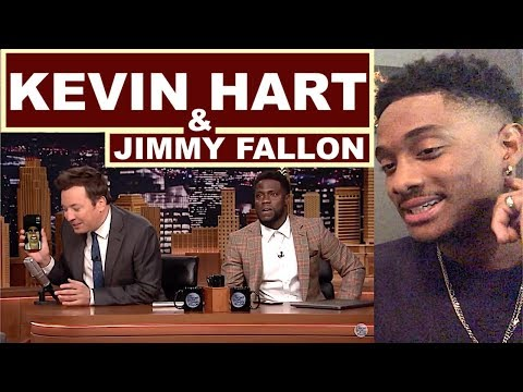 KEVIN HART FaceTimes DWAYNE JOHNSON While Co Hosting The JIMMY FALLON Show - ALAZON REACTION EPI 563 (видео)