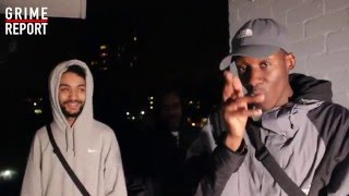 Jay Amo x Spitz x Lyrical Strally - Grime Cypher | Grime Report Tv