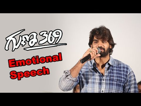 Karthikeya About Guna 369 at Success Meet