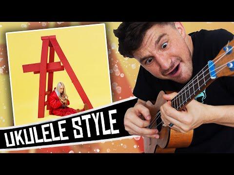 Billie Eilish Ukulele Style ( dont smile at me EP )