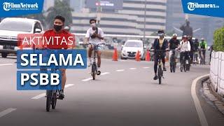 Aktivitas Warga Jakarta selama PSBB Jilid 2, Didominasi Olahraga Lari dan Bersepeda