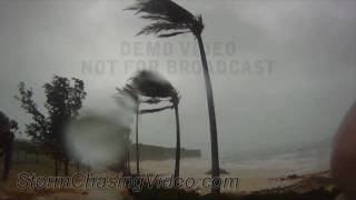 preview picture of video '9/19/2010 St. George Bermuda Hurricane Igor Extreme Conditions'