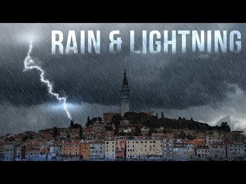 Photoshop Tutorial: How to Create Lightning and Rain from a Sunny Landscape.