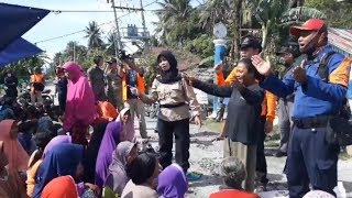 Meski Jadi Korban Gempa, Warga Dolo-Sigi Tetap Semangat Nyanyikan Indonesia Raya