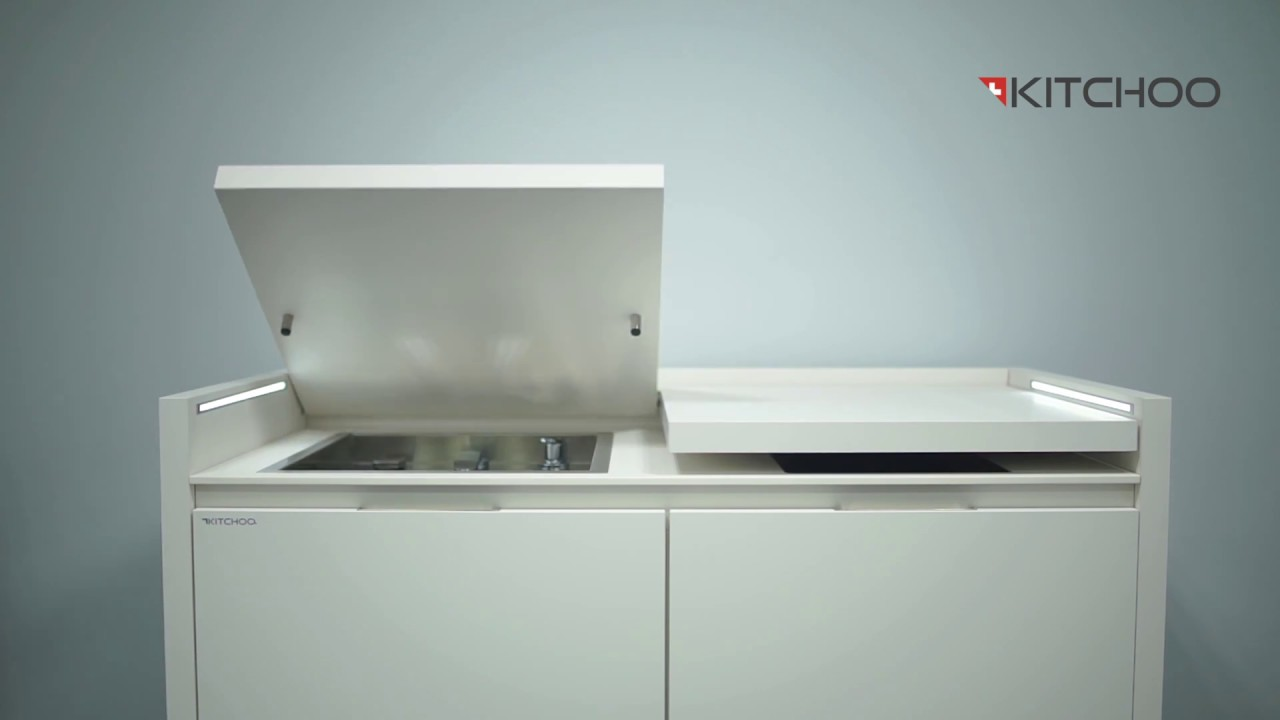 Smart Kitchens For Tiny Spaces : Compact all-in-one kitchen unit ...