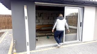 Розсувна система дверна SWS від компанії ЗахідВікнаСервіс - відео 3