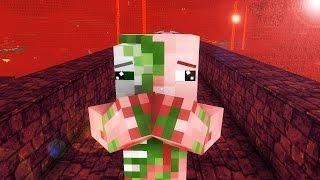 Zombie Pigman Life 1-2 - Minecraft animation