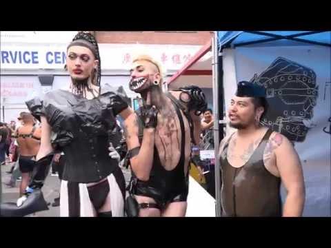 世界上最大的皮革盛會 佛森街博覽會 Folsom Street Fair
