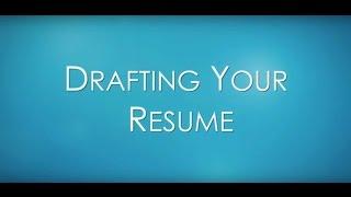 Resume Tips for Communication & Media Studies Students