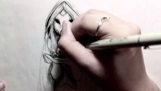 Death of a Strawberry - Dance Gavin Dance (Speed Drawing)