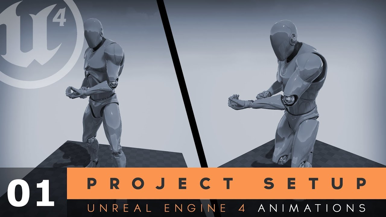 Project Setup - #1 Unreal Engine 4 Animation Essentials Tutorial Series