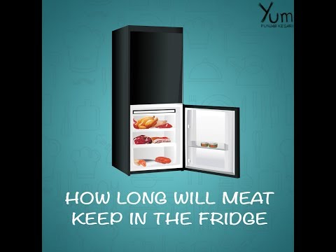 How Long will Meat Keep in The Fridge