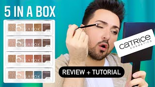 Catrice 5 IN A BOX - Full Review