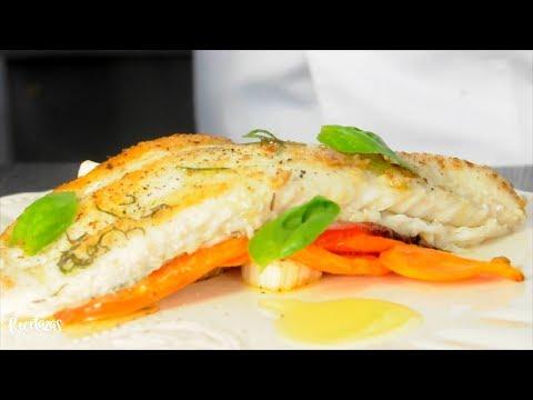 Recetazas: Salmón Blanco Grillado con Vegetales en Manteca de Tomillo