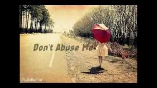 don't abuse me - the runaways (letra) .wmv