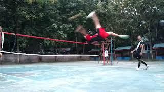preview picture of video 'Latihan Smash sepak takraw (Kampus STIK IJ PALU)'