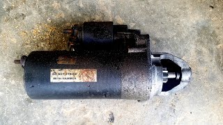 How to Reinstall the Starter on a 1999 Audi A8 Quattro or Volkswagen 4.2l V8