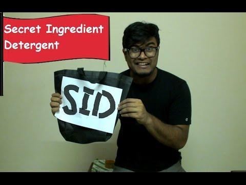 Secret Ingredient Detergent