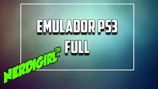 Emulador PS3 Windows 10 Full En Español Mega