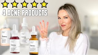 THE BEST ORDINARY PRODUCTS FOR ACNE