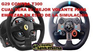 PS4. G29 CONTRA T300. CUAL SERA EL MEJOR VOLANTE PARA EMPEZAR EN ESTO DE LA SIMULACION