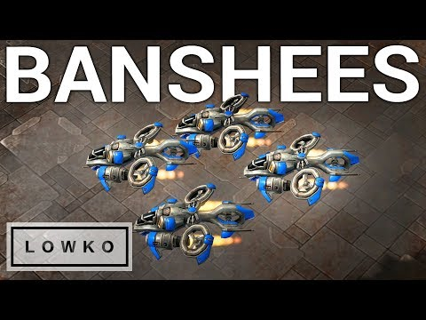StarCraft 2: BANSHEE ASSASSINS!