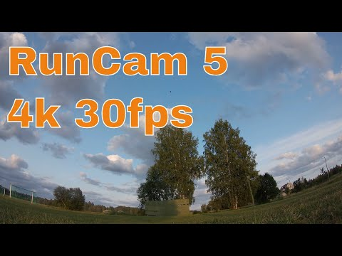RunCam 5 Default Settings 4k 30fps Sample Footage 7/8
