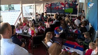 Новгородцы посмотрели матч Чемпионата мира по футболу 2018 «Россия - Уругвай» вместе с НТ