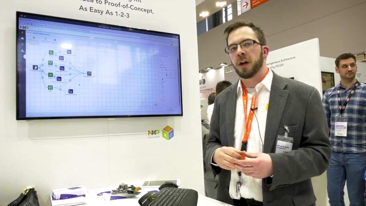 Atmosphere IoT at Embedded World '18 video picture