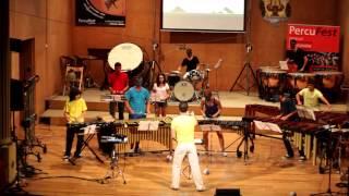 ANGRY BIRDS Ensemble ALUMNADO Concierto Gala Final PercuFest 2013 dirigido por Antonio Domingo