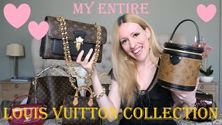 My Entire Louis Vuitton Handbag Collection