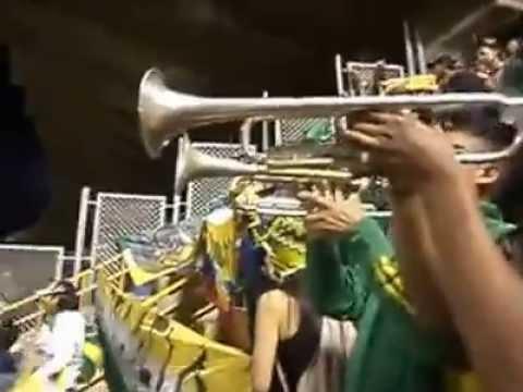 """""""Artillería Verde Sur En Pasto"""" Barra: Artillería Verde Sur • Club: Deportes Quindío"""